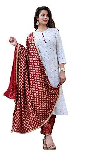 Bae's Wardrobe Women's Cotton Salwar Suit