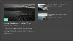 Visiterò l'isola d'Elba, l'isola delle Baleari e la Corsica