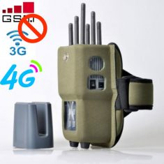 Wireless jammer: Gas stations are not allowed to make calls
