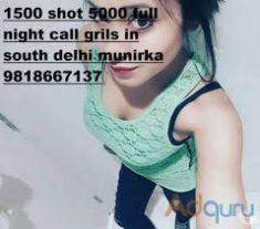 Delhi Escorts MuNiRkA Call Girls Service Call 9818667137 …