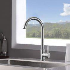 Aihom 360° Drehbar Wasserhahn Küche Edelstahl