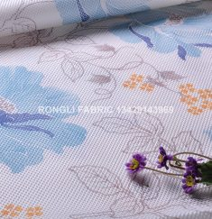 RLPS-27-5 Pure Polyester 3D Net Mesh Printed Mattress Fabric